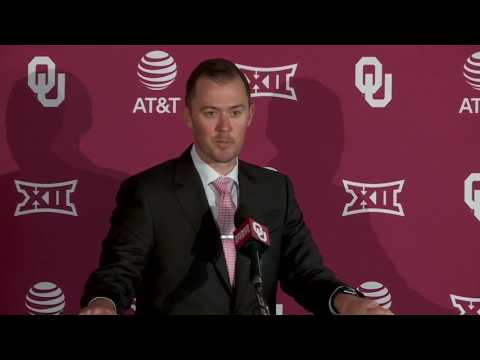 Lincoln Riley named OU Sooners head coach
