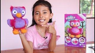 Unboxing Mainan Anak Fuzzeez - Membuat Boneka Burung Hantu -...