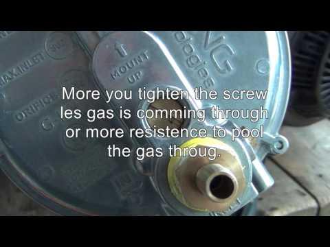 Adjust Garretson Low Pressure Gas Regulator 039-122