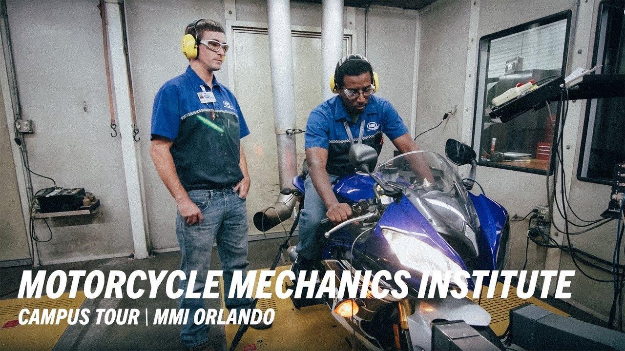mmi orlando programs campus tour motorcycle mechanics institute
