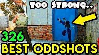 DOORS ARE TOO STRONG ! - CS:GO BEST ODDSHOTS #326