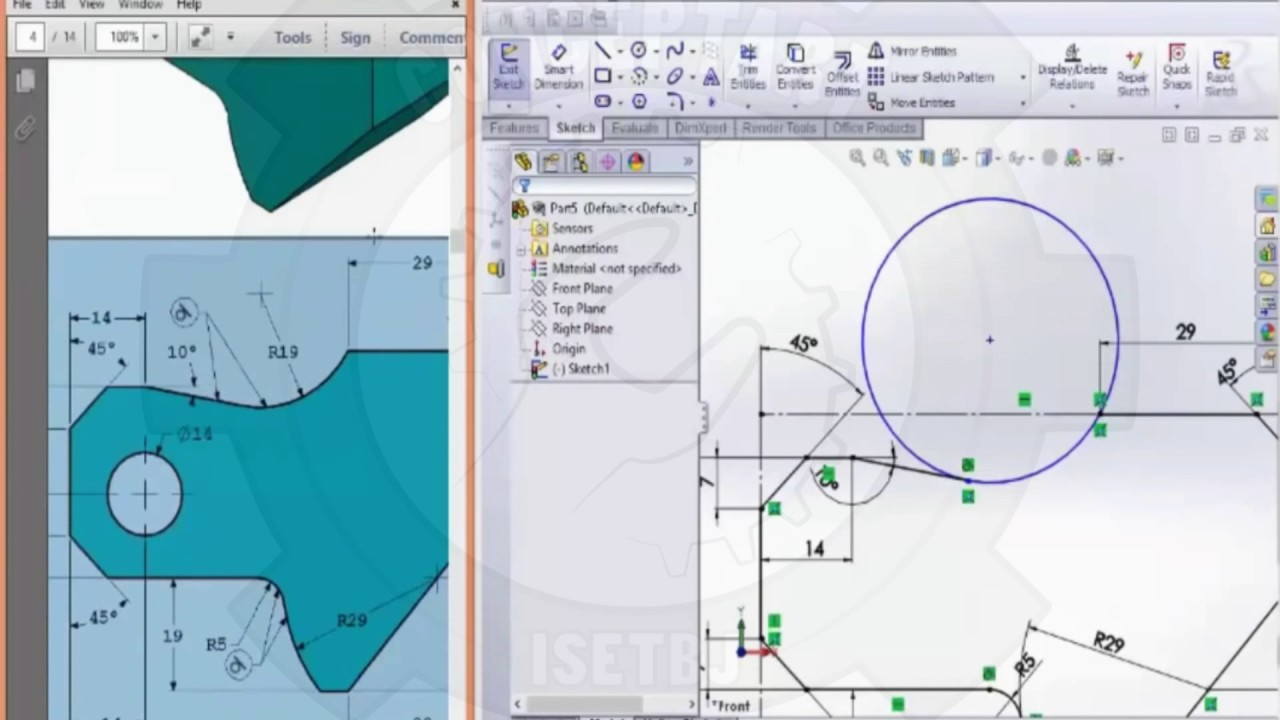 SolidWorks CSWA Practice Exam Solutions | CONCEPTART - YouTube