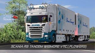 [ETS2. V1.28]...PDT...Scania RS Tandem Wigmore VTC (Flowers)