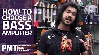 How To Choose A Bass Amplifier - Bass Amplifier Buying Guide!