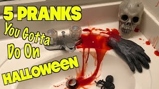 5 Creepy Halloween Pranks You Can Do On Friends and Family - HOW TO PRANK| Nextraker
