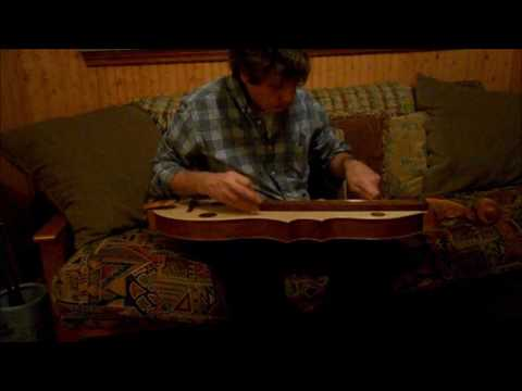 First play on my new dulcimer (last night).