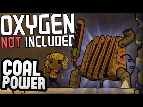 Oxygen Not Included - Coal Power Generation & Poop Improvements! - Oxygen Not Included Gameplay pt 8