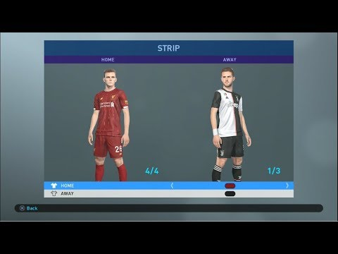 UPDATE PES 2019 PS4 OPTION FILE KITS TRANSFER SUMMER 2019-2020