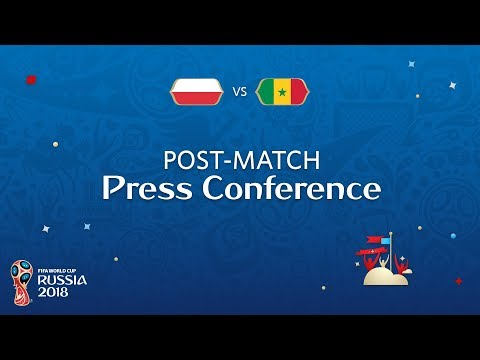 FIFA World Cup™ 2018: Poland V. Senegal - Post-Match Press Conference