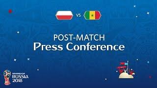 FIFA World Cup™ 2018: Poland v. Senegal - Post-Match Press Conference