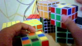 tutorial rubik void cube indonesia part 1 (Cross hitam atau putih)