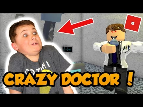 LET's ESCAPE CRAZY DOCTOR From EVIL HOSPITAL In ROBLOX INSANE OBBY