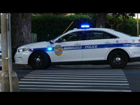 Honolulu PD Responding with Rumbler + Bonus Footage! - Hawaii, Sept