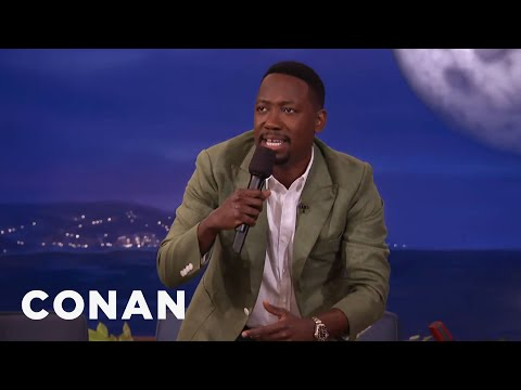 Lamorne Morris' Product Placement Rap   CONAN on TBS