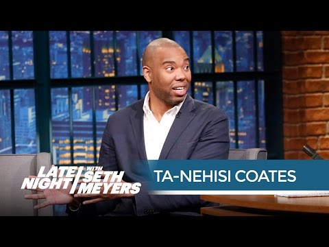 Ta-Nehisi Coates talks about America's mass incarceration problem on Late Night with Seth Meyers