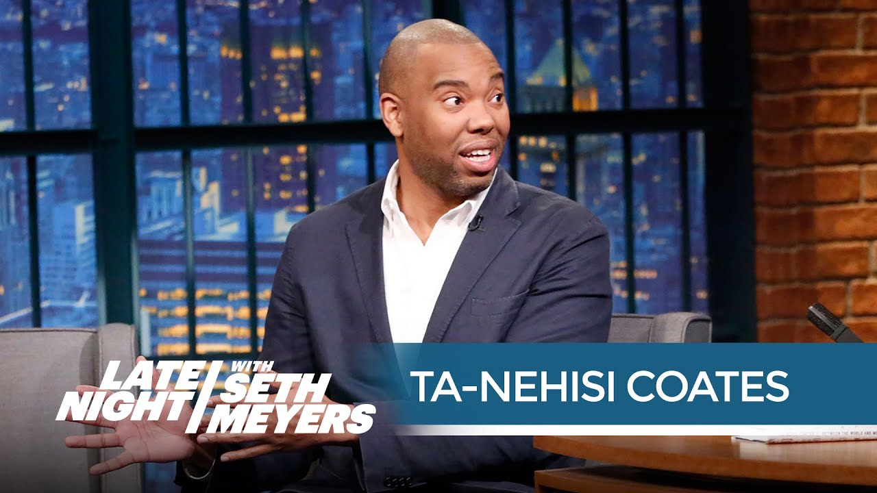 Ta-Nehisi Coates | on America's Mass Incarceration Problem | Late Night with Seth Meyers