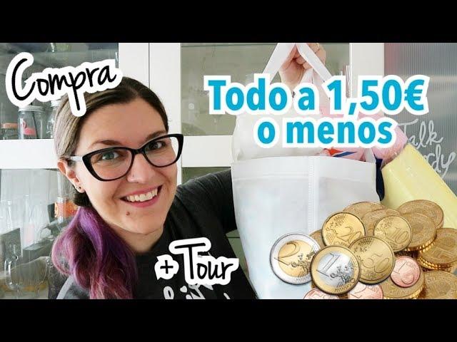 COMPRA SEMANAL TODO A 1 EURO | Supermercado Todo a 1.50 | UNBOXING DISFRUTABOX Octubre 2018