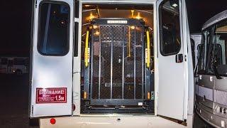 Автобус с подъёмником для перевозки людей с ограниченными возможностями(, 2016-04-15T12:25:35.000Z)