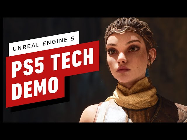 PS5 Unreal Engine 5 Tech Demo