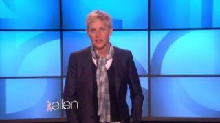 Ellen on Breast Cancer Awareness Month