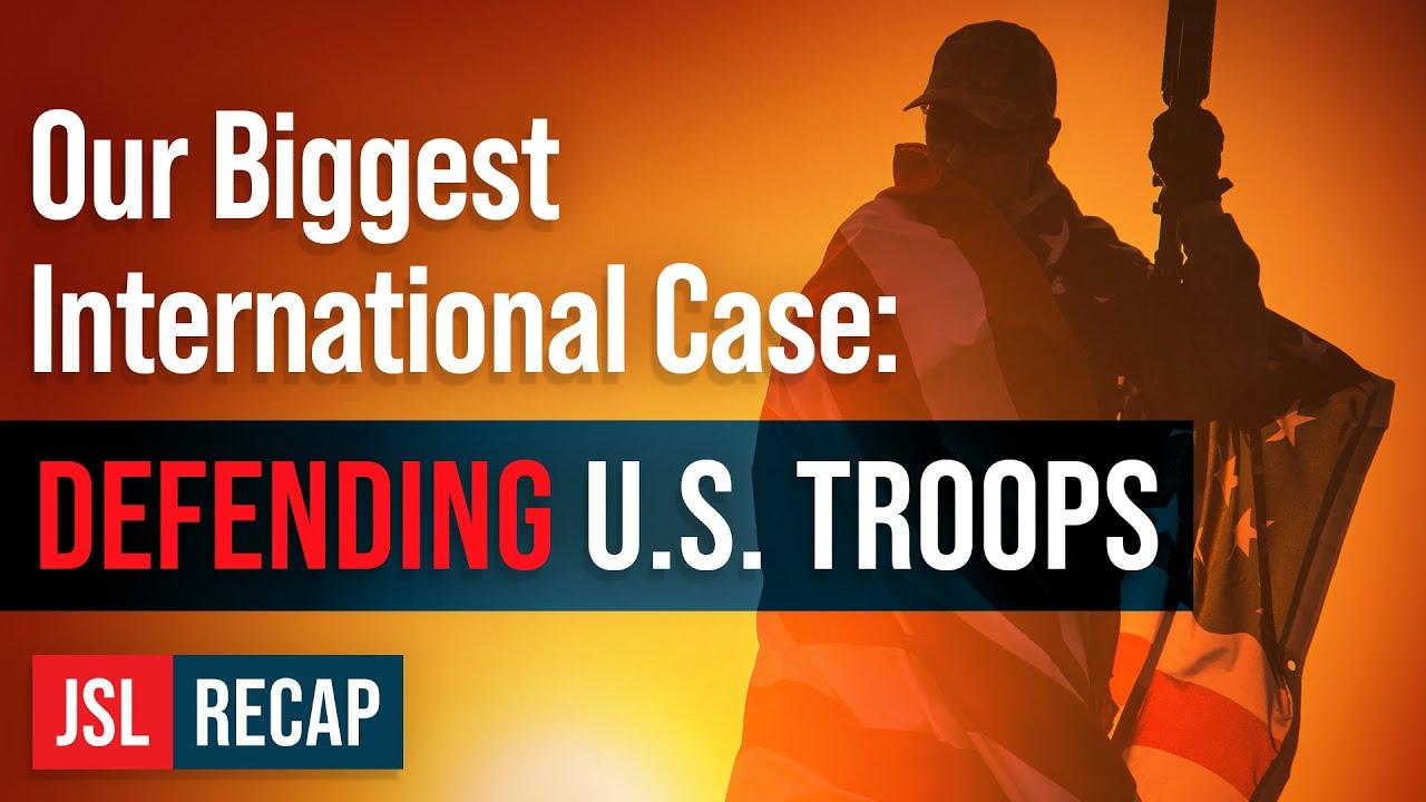 ACLJ Our Biggest International Case Ever: Defending U.S. Troops at the International Criminal Court