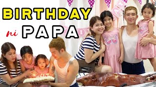 Birthday ni Papa   Melason Family Vlog