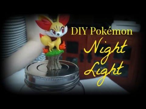 DIY Pokémon Night Light Jar | PokéFan DIY's, Crafts, and Snacks