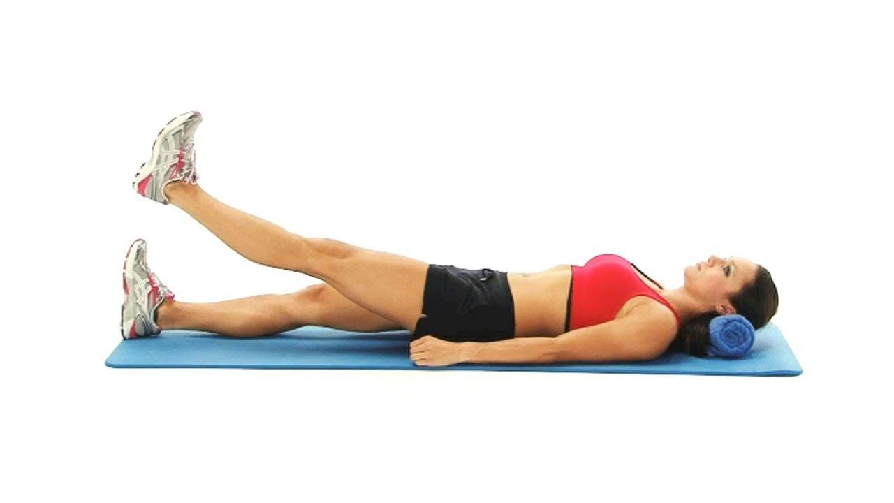 leg raise exercises to strengthen hips - the straight leg ...