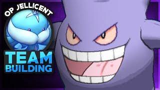 Gengar Team Builder! Pokemon Showdown OU Team Building W/OPJellicent (Smogon Sun and Moon OU Team)