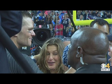 Tom Brady Celebrates Super Bowl LI Victory With Family