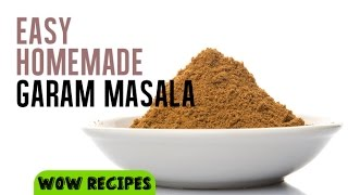 How to make Indian Garam Masala at home | Basic Cooking Skills by WOW Recipes