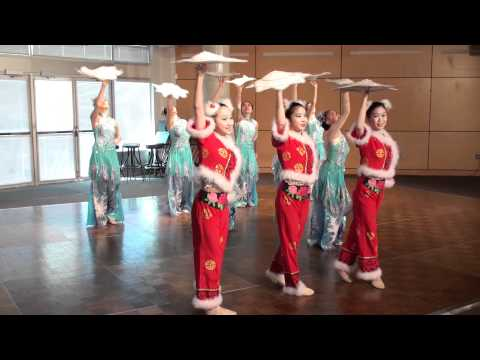 Beautiful Chinese Dance - Flying Snowflakes - Colours Of Dance Academy