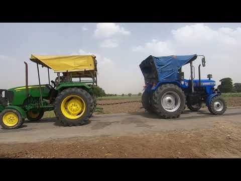 John Deere 5036 D Tractor & Sonalika DI-35 Tractor Tochan