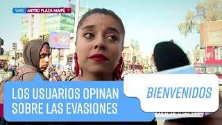 Los usuarios opinan sobre las evasiones en el Metro de Santiago   Bienvenidos