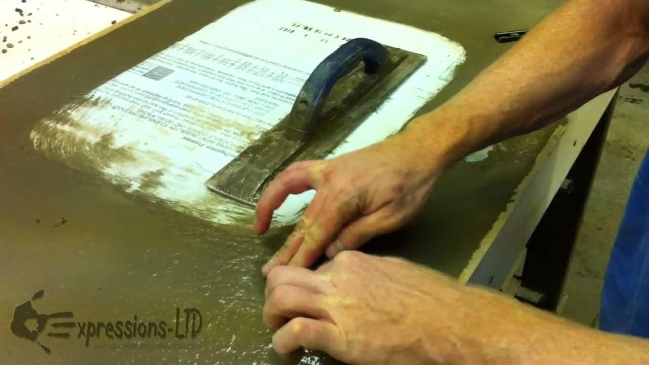 Using Concrete Countertop Undermount Sink Anchors
