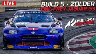 ACC Build 5  - Assetto Corsa Competizione Build 5 Early Access | Emil Frey Jaguar G3 @ Zolder