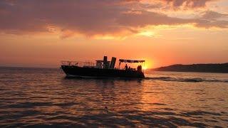 Прогулка на яхте в Сочи. Аренда. Рыбалка с яхты. Купание в море. Мангал. Вид на горы и город.(, 2016-11-23T10:36:00.000Z)