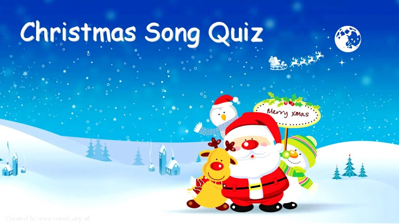 CHRISTMAS SONG QUIZ - Questions & Answers - YouTube