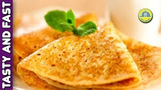 Delicious Pancakes With Milk. A Simple Recipe for Homemade Pancakes. | TastyFastCookRO