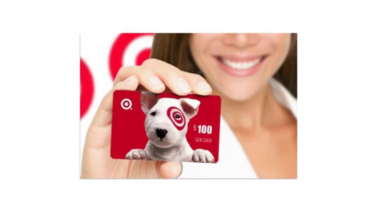 Target gift card balance youtube target gift card balance negle Image collections