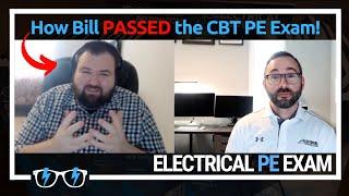 Bill shares how he PASSED the CBT Power PE Exam (December 2020)