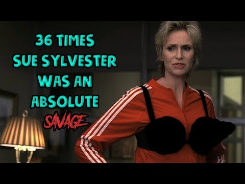 "36 Times Sue Sylvester From ""Glee"" Was An Absolute Savage"