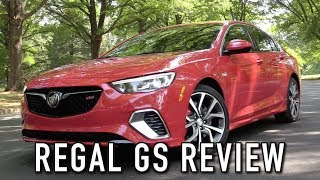 2018 Buick Regal GS: Start Up, Test Drive & In Depth Review