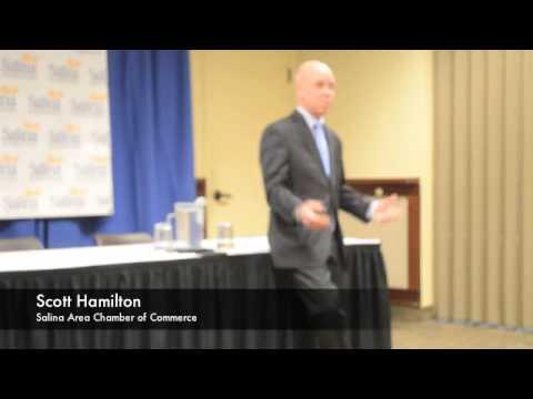 Salina Area Chamber of Commerce speaker Scott Hamilton - YouTube
