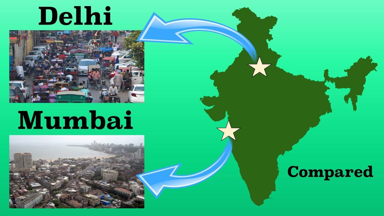Download Delhi and Mumbai Compared