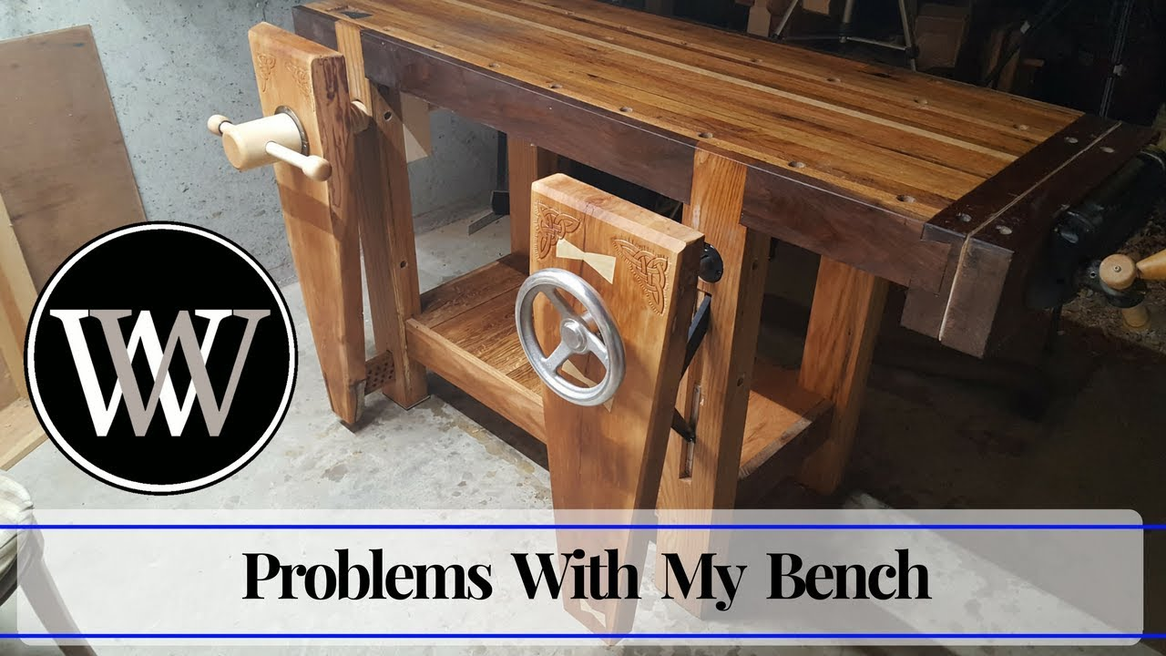 Hand Tool Woodworking Bench What I Did Wrong And Learned Wood By Wright Workbench Youtube