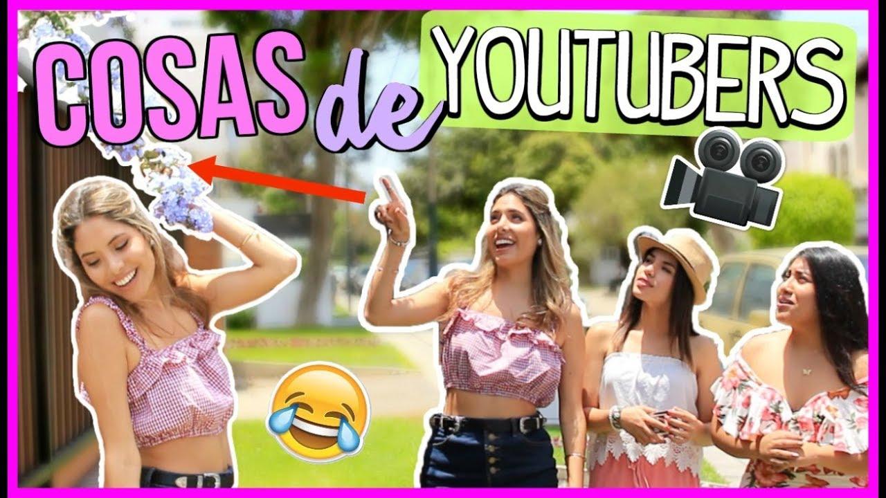 YOUTUBERS VS NO YOUTUBERS!! | Valeria Basurco