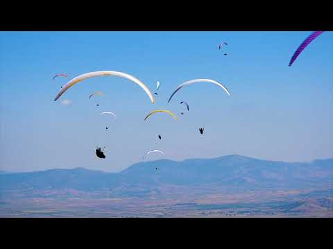 FAI World Paragliding Championship 2019: in the sky