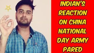 Indian's Reaction On 'China National Day Army Pared - Indian Host