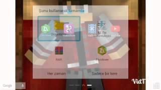 Android de intro nasıl video'nun başına koyulur